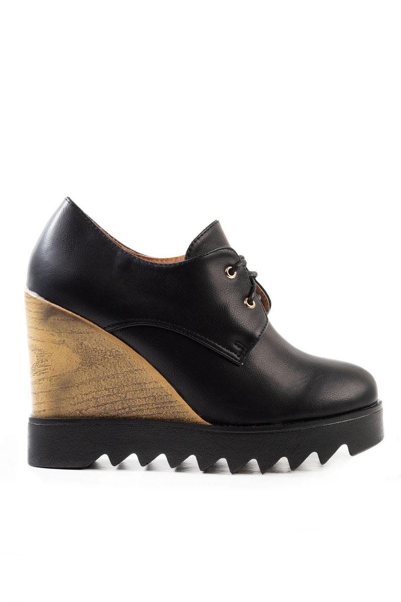 Pantofi Dama Talpa Intreaga Misha Negru