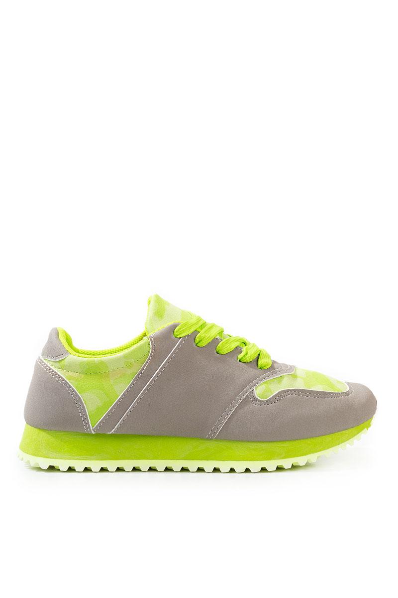 Pantofi Dama Sport Vanessa Verde galben